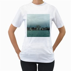 Venice White Womens  T-shirt