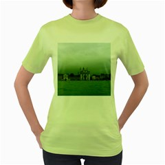 Venice Green Womens  T-shirt