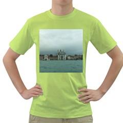 Venice Green Mens  T-shirt