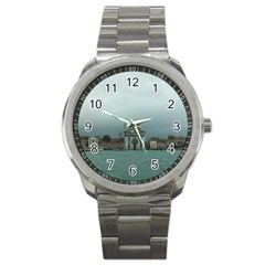 Venice Stainless Steel Sports Watch (Round)