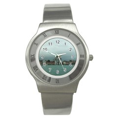 Venice Stainless Steel Watch (Round)