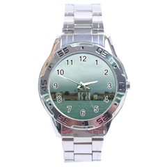 Venice Stainless Steel Analogue Watch (Round)
