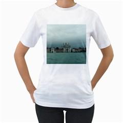 Venice White Womens  T-shirt