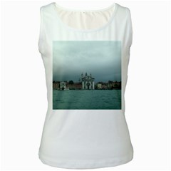 Venice White Womens  Tank Top