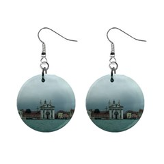 Venice Mini Button Earrings