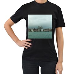 Venice Twin-sided Black Womens'' T-shirt