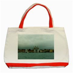 Venice Red Tote Bag