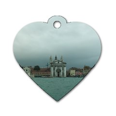 Venice Twin Sided Dog Tag (heart)