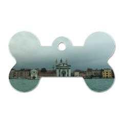 Venice Twin-sided Dog Tag (Bone)