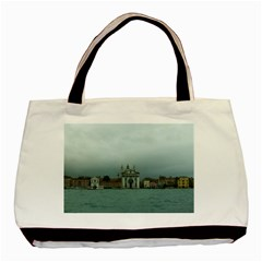 Venice Twin Sided Black Tote Bag