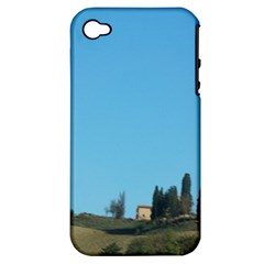 Italy Trip 001 Apple Iphone 4/4s Hardshell Case (pc+silicone)