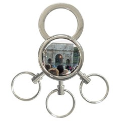 Rome 3-Ring Key Chain
