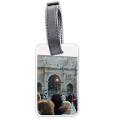 Rome Single-sided Luggage Tag