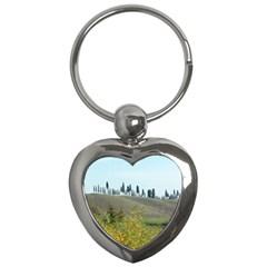 Italy Trip 1 149 Key Chain (heart)