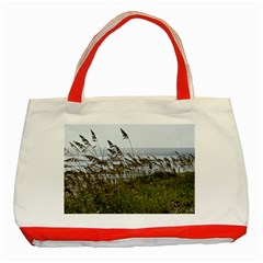 Cocoa Beach, Fl Red Tote Bag