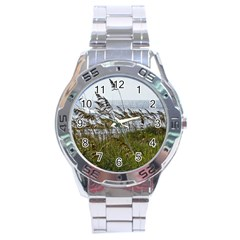 Cocoa Beach, Fl Stainless Steel Analogue Watch (round)