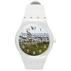 Cocoa Beach, Fl Round Plastic Sport Watch Medium