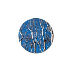 Trees on Blue Sky 10 Pack Golf Ball Marker