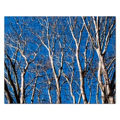 Trees On Blue Sky Jigsaw Puzzle (rectangle)