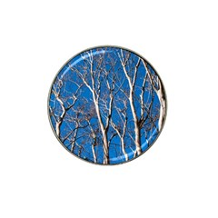 Trees on Blue Sky Golf Ball Marker (for Hat Clip)