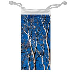 Trees on Blue Sky Glasses Pouch