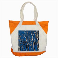 Trees on Blue Sky Snap Tote Bag