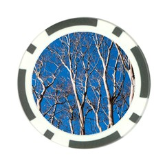 Trees On Blue Sky Poker Chip
