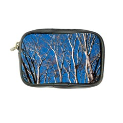 Trees on Blue Sky Ultra Compact Camera Case