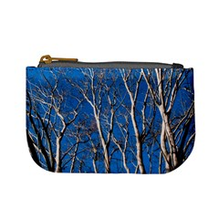 Trees on Blue Sky Coin Change Purse