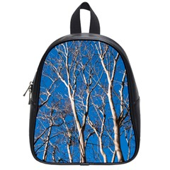 Trees On Blue Sky Small School Backpack