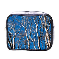 Trees on Blue Sky Single-sided Cosmetic Case