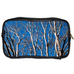 Trees On Blue Sky Single Sided Personal Care Bag