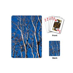 Trees on Blue Sky Playing Cards (Mini)