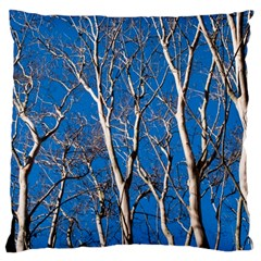 Trees on Blue Sky Large Cushion Case (Two Sides)