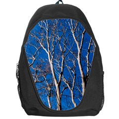 Trees on Blue Sky Backpack Bag