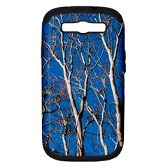 Trees on Blue Sky Samsung Galaxy S III Hardshell Case (PC+Silicone)