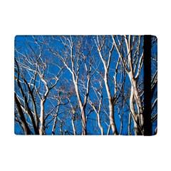 Trees on Blue Sky Apple iPad Mini Flip Case