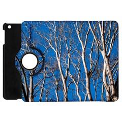 Trees on Blue Sky Apple iPad Mini Flip 360 Case
