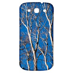 Trees on Blue Sky Samsung Galaxy S3 S III Classic Hardshell Back Case