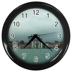 Venice Black Wall Clock
