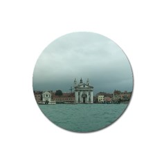 Venice Large Sticker Magnet (round)