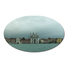 Venice Large Sticker Magnet (oval)