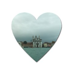 Venice Large Sticker Magnet (Heart)
