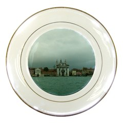 Venice Porcelain Display Plate