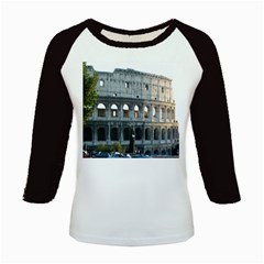 Roman Colisseum 2 Long Sleeve Raglan Womens'' T Shirt