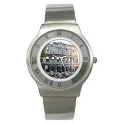 Roman Colisseum 2 Stainless Steel Watch (round)