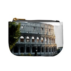 Roman Colisseum 2 Coin Change Purse