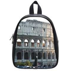 Roman Colisseum 2 Small School Backpack