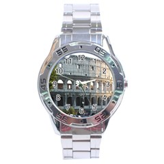 Roman Colisseum 2 Stainless Steel Analogue Watch (Round)