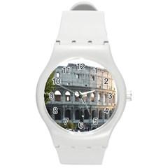 Roman Colisseum 2 Round Plastic Sport Watch Medium